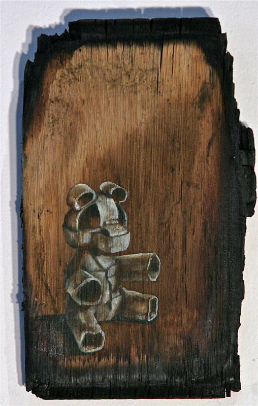 kay-kropp---untitled-bear-on-wood_8215485318_o
