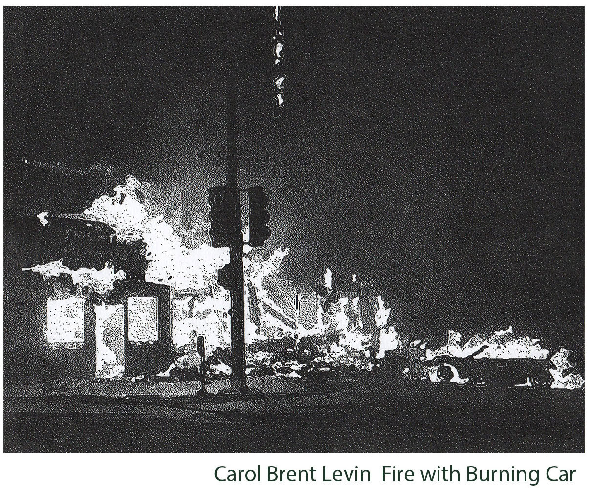 Brent-Levin-Carol_Fire-With-Burning-Car